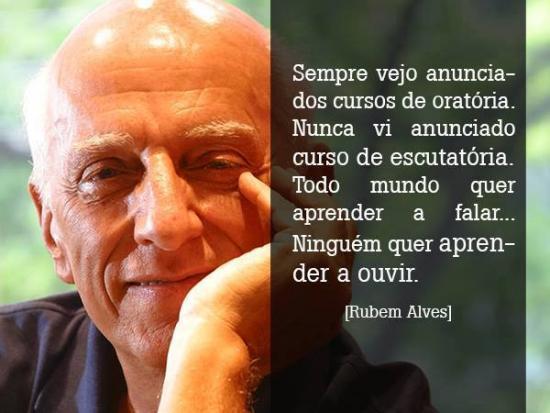 Escutatoria - Rubem Alves