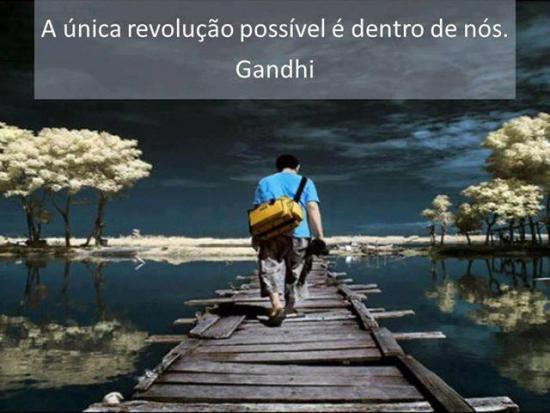 Revolucao - Gandhi